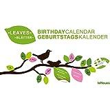 Geburtstagskalender- Blätter/mit Aufklebern- Spiralbindung- 42 x 24 cm