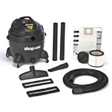 Shop-Vac 5867500 6.5-Peak Horsepower QSP Quiet Deluxe Wet/Dry Vacuum, 16-Gallon