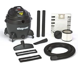 Shop-Vac 5867500 6.5-Peak Horsepower QSP Quiet Deluxe Wet/Dry Vacuum, 16-Gallon