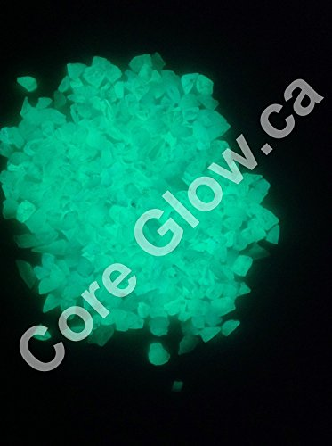 CORE Glow Marble Chips 3-8mm Green 1lb
