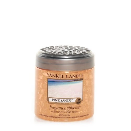 Yankee candle company pink sands fragrance spheres home for Aroma candle and scent company
