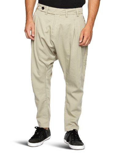 Religion Ltd Smoker Drop Crotch Men's Trousers Cement Small