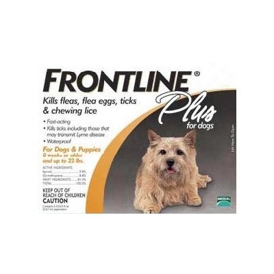 Plus Flea & Tick Medication For Dogs Supply Size: 6 Month Supply, Pet Weight: 0 to 22 lbs