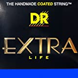 DR Cool Blue Extra Life Electric Guitar Strings 9-46 PBE-9/46