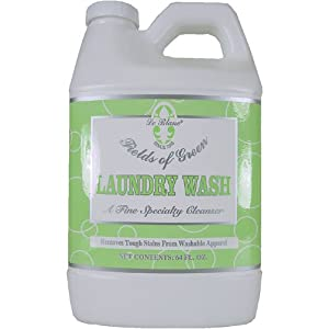 LeBlaLeBlanc Fields of Green Jumbo 64 oz Laundry wash - for all regular laundry, 6Pack