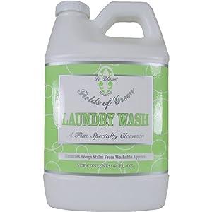 LeBlaLeBlanc Fields of Green Jumbo 64 oz Laundry wash - for all regular laundry, 6Pack