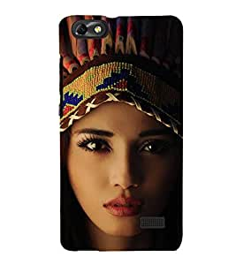 EPICCASE Tribal woman Mobile Back Case Cover For Huawei Honor 4C (Designer Case)