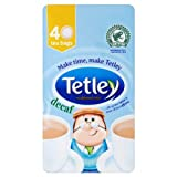 Tetley Decaf 40 Tea Bags 125g (Pack of 6 x 40s)