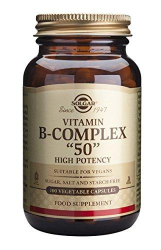"""Solgar Formula Vitamin B-Complex """"50"""" Vegetable Capsules - 100 Vegicaps"""