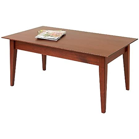 "Manchester Wood 42"" Cherry Shaker Coffee Table - Heritage Cherry"