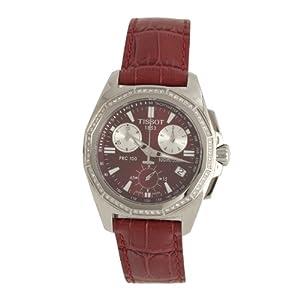 Tissot Women's PRC 100 Diamond Strap watch #T22.1.466.81