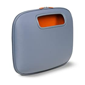 Belkin F8N043-GRY PocketTop Notebook PC Case - Gunmetal w/ Orange
