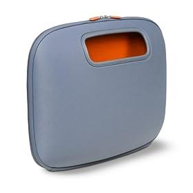 Belkin F8N043-GRY PocketTop Notebook PC Case - Gunmetal w/ Orange