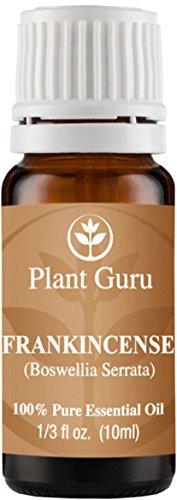 Frankincense Essential Oil. 10 ml. (Boswellia Serrata) 100% Pure, Undiluted, Therapeutic Grade. (Weed Steam Rollers compare prices)