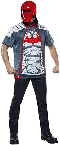 Rubie's Costume Co Men's Arkham Knight Red Hood Costume Top