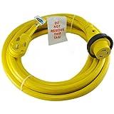 Conntek 14354 RV Power Cord 50-Foot RV 30 Amp Male Plug To 30 Amp Locking Female Connctor