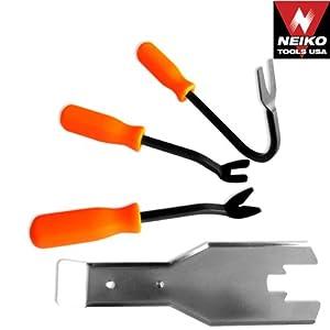 Neiko Auto-Body Door Panel, Winshield, Trim Removal Tool Kit