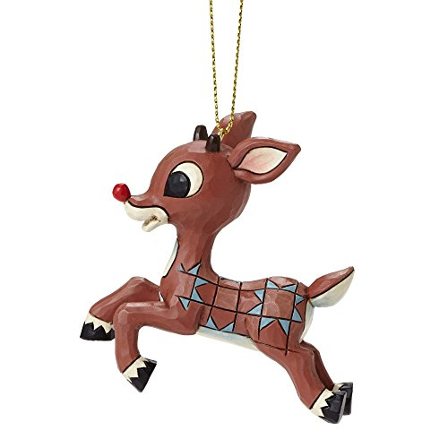 Rudolph Traditions by Jim Shore, Rudolph Flying Ornament
