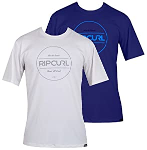 Rip Curl Foundation Short Sleeve Rash Guard Surf Shirt by Rip Curl