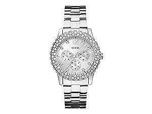 Guess W0335L1 - Reloj de pulsera mujer, acero inoxidable, color plateado
