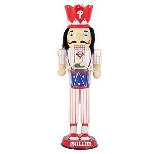 MLB Philadelphia Phillies 14-Inch Drummer Nutcracker by Unknown
