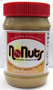 No Nuts Golden Peabutter - Box of 12 - 18oz Jars