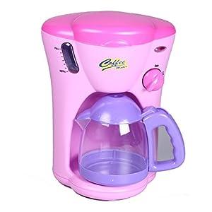 Amazon.com: Fun-tech Kid Kitchen Pretend Play Toy Set Coffee Maker: Toys & Games