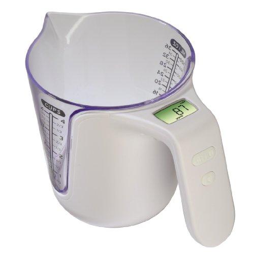 Xavax Broc gradué-Balance de 1 à 3000 g. Broc détachable pour lavage en machine