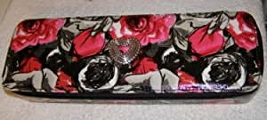 Brighton Madison Floral Jewelry Case (black)