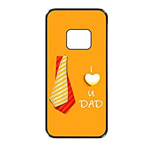 Vibhar printed case back cover for Samsung Galaxy Alpha DadTie