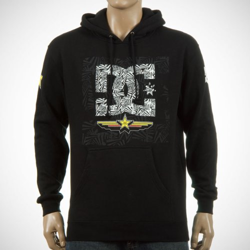 DC Shoes Fleece RS Shifter Hoodie Men's Jumper Black Medium