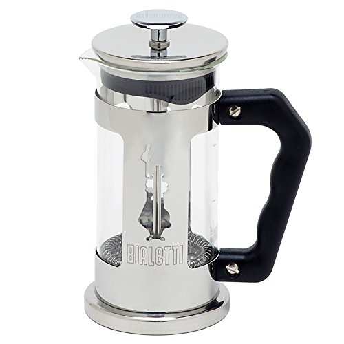 Bialetti 6860 Preziosa Stainless Steel 3-Cup French Press Coffee Maker, Silver (French Press Bonjour Monet compare prices)