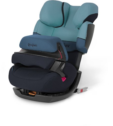 Cybex 512110003 Pallas-Fix Autositz Gruppe I, II, III, water colours blue