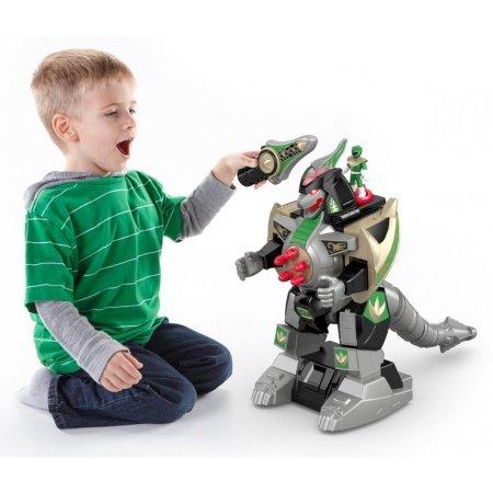 Fisher-Price Imaginext Power Rangers Green Ranger & Dragonzord R/C Playset