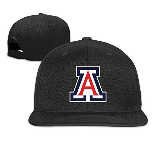 k-fly2-adjustable-university-of-arizona-baseball-caps-hat-unisex-black