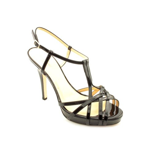 Kate Spade New York Women'S Renee Sandal,Black Patent,8.5 M Us