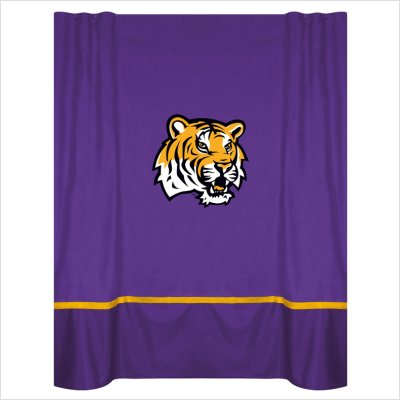 NCAA LSU Fightin Tigers MVP Shower Curtain at Amazon.com