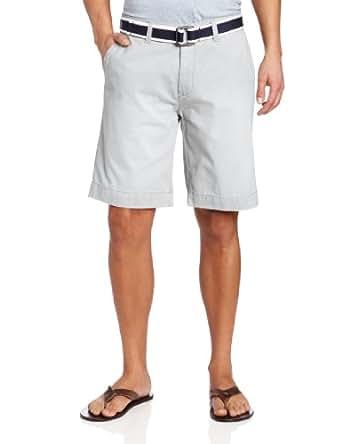 U.S. Polo Assn. Men's Hartford Twill Short, Concrete, 38