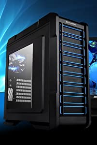 CPU Solutions AM3+ FX-4300 Quad Core 3.8GHz Gaming Desktop PC. 500GB HDD, 8GB RAM, GT630 w/2GB, Windows 7