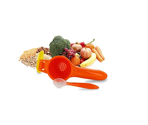 Onbi Baby SMASH - Baby Food Press (Orange)