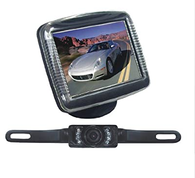 Pyle Car Van Vehicle Rearview Backup Camera & Video Monitor Parking/Reverse System from The Rear View Camera Center