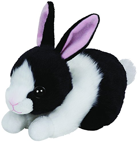 """Ty Beanie Babies 6"""" Checkers The Bunny"""