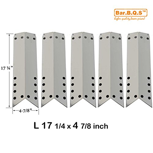 barbqs-93051-5pack-replacement-gas-grill-stainless-steel-heat-shield-plaque-de-chaleur-tente-de-chal