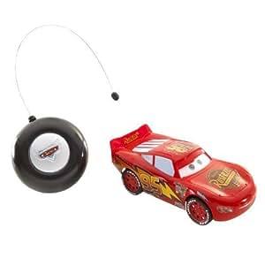Disney / Pixar CARS Movie Tyco Little Rides World of Cars R/C Radio Control Lightning McQueen