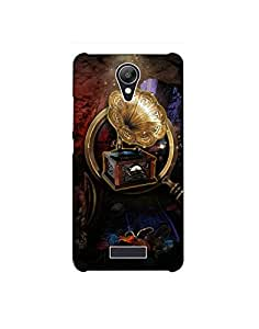 Micromax Q416 ht003 (27) Mobile Case from Mott2 - Gramaphone Love - HD (Limited Time Offers,Please Check the Details Below)