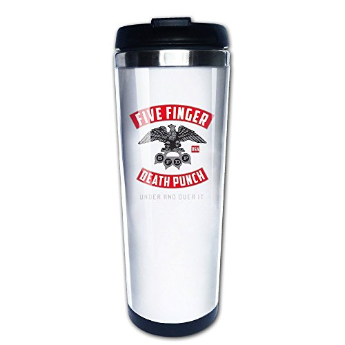 Mensuk Five Finger Death Punch.png Vacuum Cup Coffee/Travel Mugs