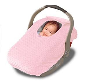 car seat cover cover for your baby in their car seat pink child safety car. Black Bedroom Furniture Sets. Home Design Ideas