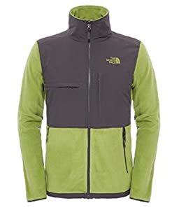 Men's The North Face Denali Jacket Grip Green/Asphalt Grey