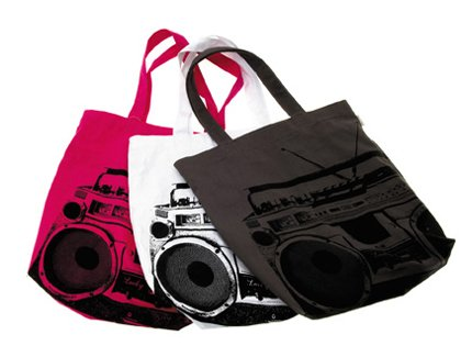 Wanted sac Ghetto Blaster (couleur aléatoire)