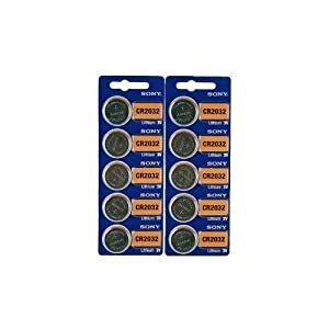 3 X Sony CR2032 Lithium 3V Batteries (2 x Pack of 5)